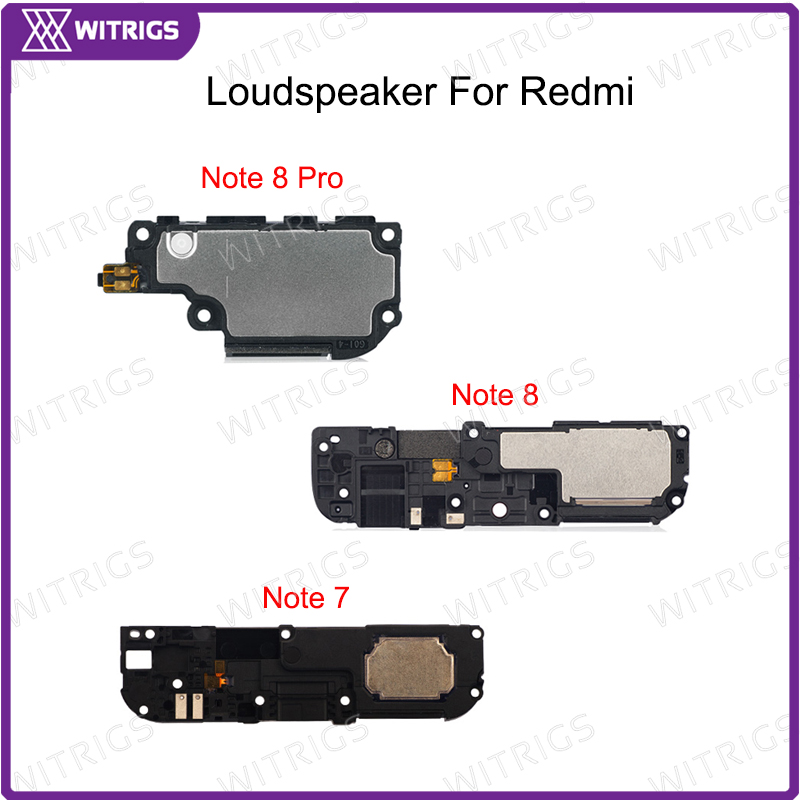 Witrigs Original For Redmi Note 7 8 Pro Loudspeaker Explorer Loud Speaker Buzzer Ringer Replacement For Xiaomi Redmi Note 8Pro