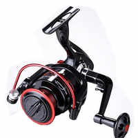 Spinning Fishing Reel Saltwater Carretilha Pesca Aluminum Spool Wheel Metal Fishing Wheel