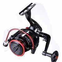 Spinning Fishing Reel Saltwater Carretilha Pesca Aluminum Spool Wheel Metal Fishing Wheel