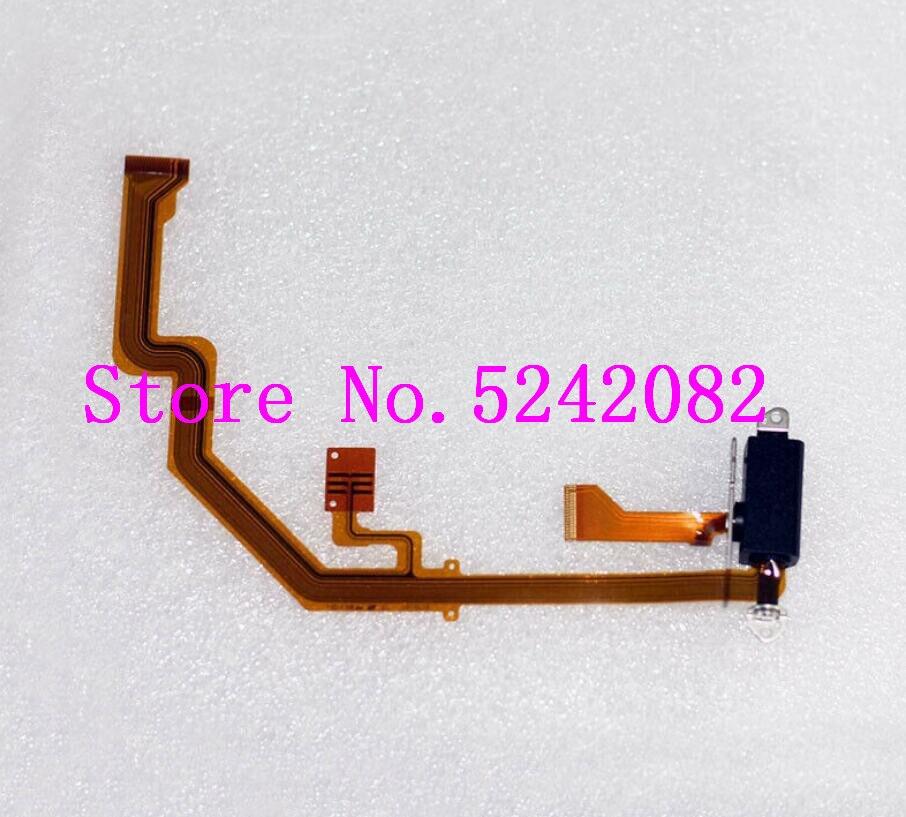 Nouvel axe rotatif d'écran d'affichage à cristaux liquides de contact et câble flexible pour la caméra de Panasonic DMC-G80 G85 G81 G7MK2