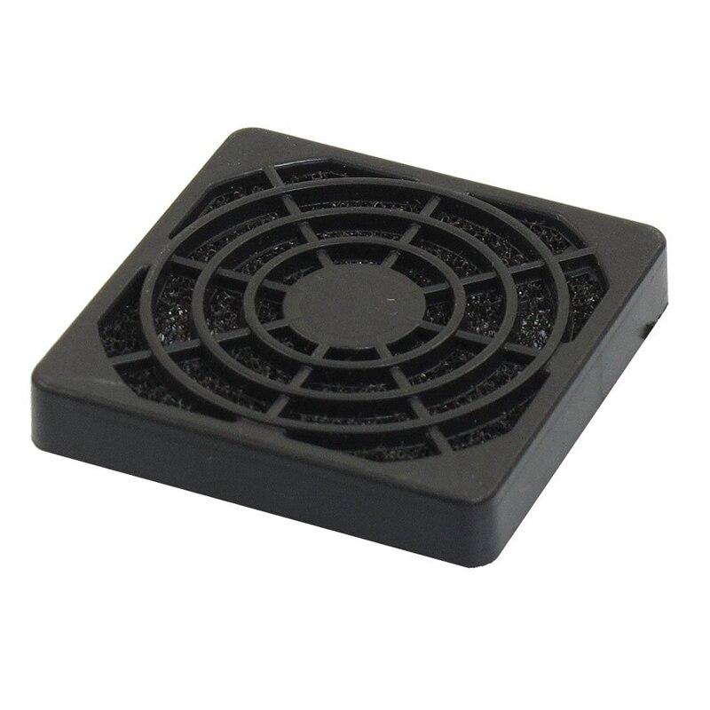 PC Computer Black Plastic Dustproof Filterable 40mm Fan Filter Guard