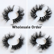 20/30/50 pair handmade Mink Eyelashes Criss-cross Strands Cr