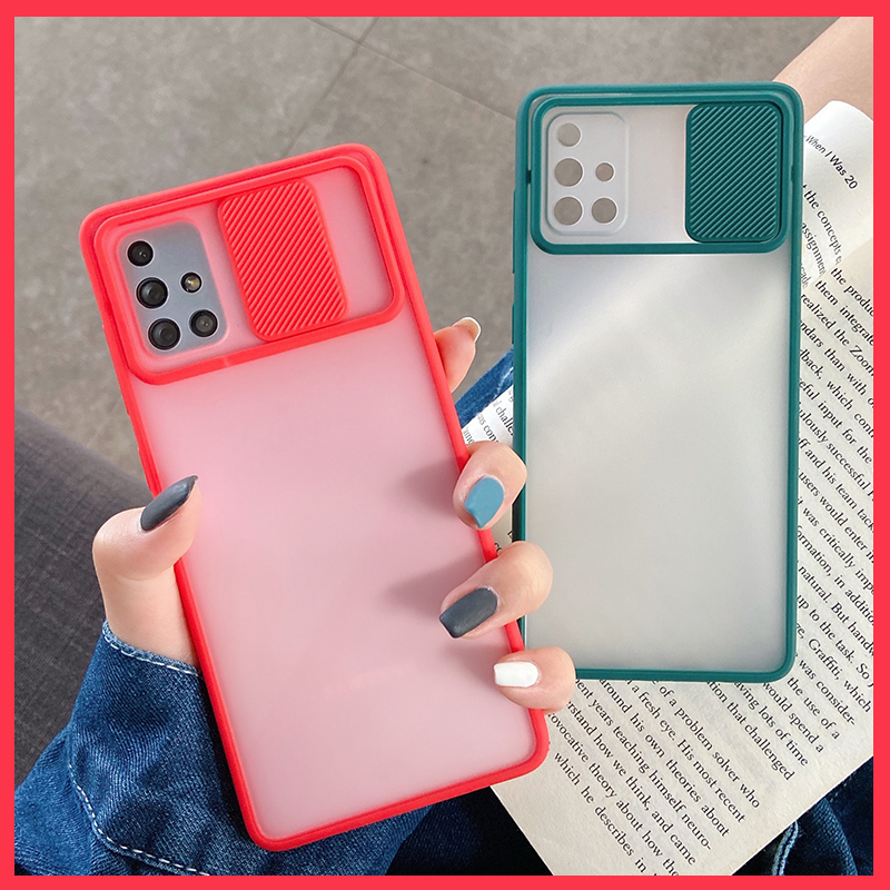 Camera Lens Protection Phone Case on For Samsung galaxy A51 A50 A71 A70 S20 A30 A31 A10 M11 Matte Color Candy Back Cover Case