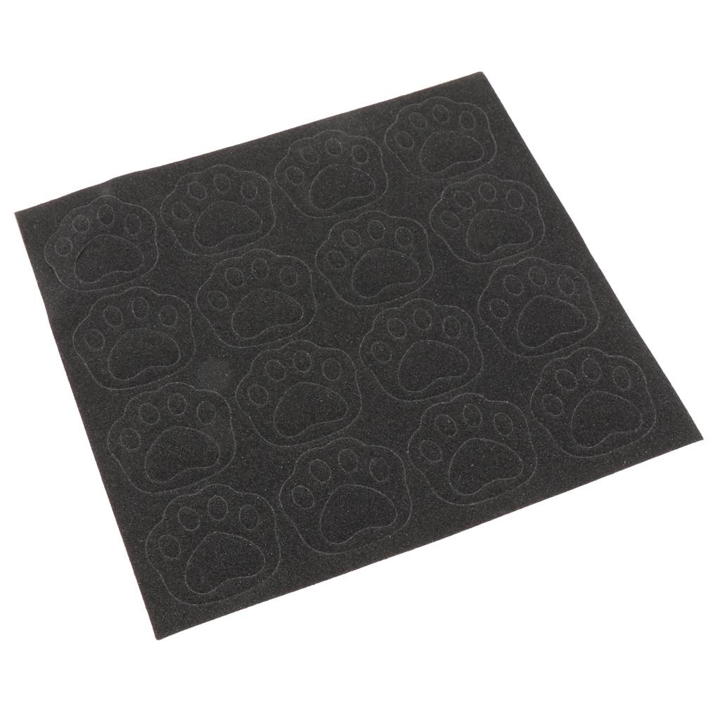 2x Grip Tape Skateboard Sandpaper Longboard Abrasion Sticker Protector