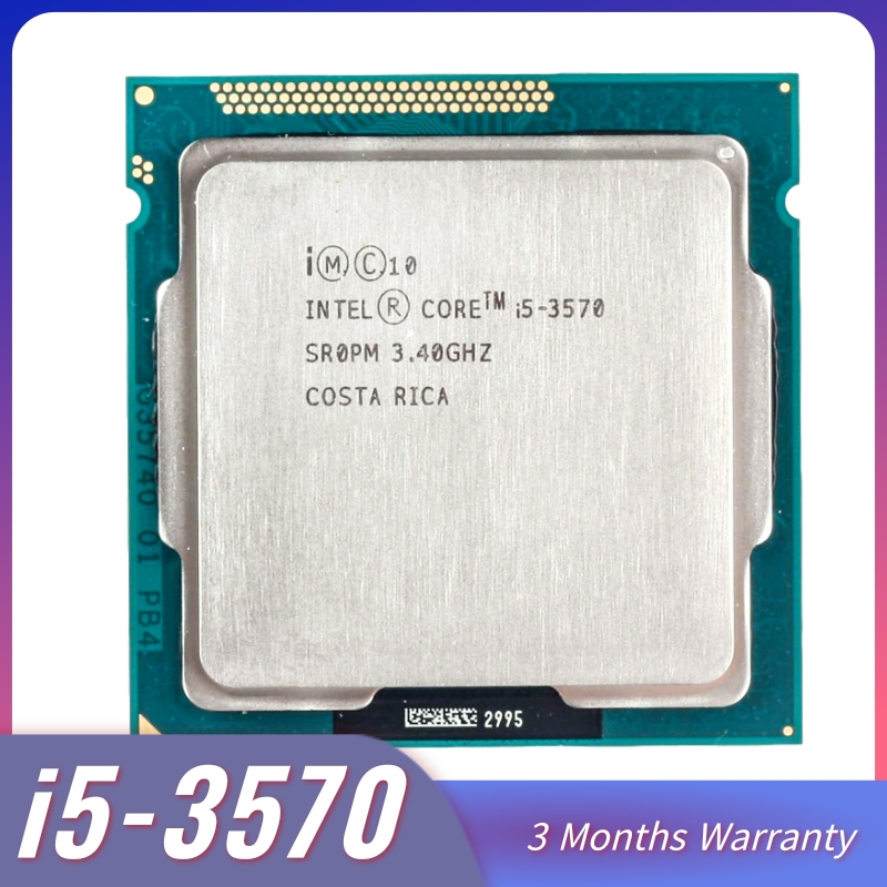 Intel Core i5-3570 I5 3570 Processor i5 3570 LGA1155 PC computer Desktop CPU Quad-Core CPU 3470 3770 core i5 3570 image