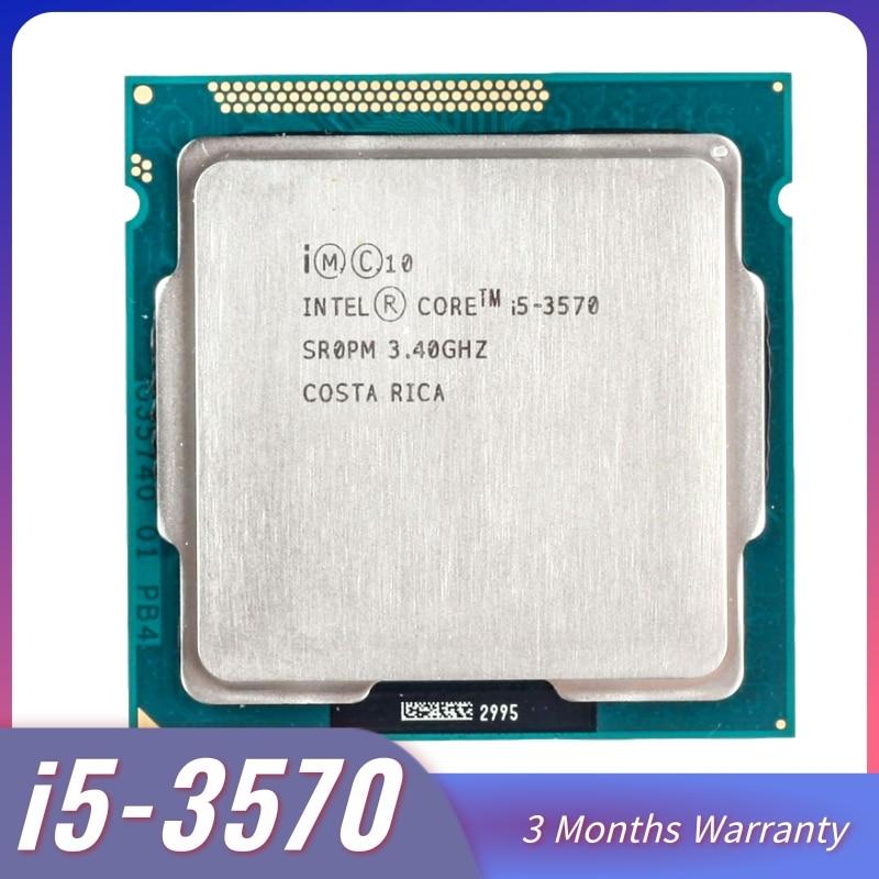 Intel Core i5-3570 I5 3570 Processor i5 3570 LGA1155 PC computer Desktop CPU Quad-Core CPU 3470 3770 core i5 3570
