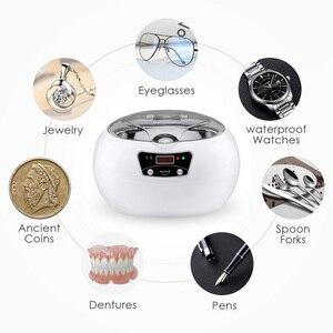 Image 5 - SKYMEN Digital Ultrasonic CLEANERสำหรับเครื่องประดับแปรงสีฟันโลหะทันตกรรมมีดโกนบ้านอัลตราซาวด์ทำความสะอาดเครื่องจับเวลาBathถัง