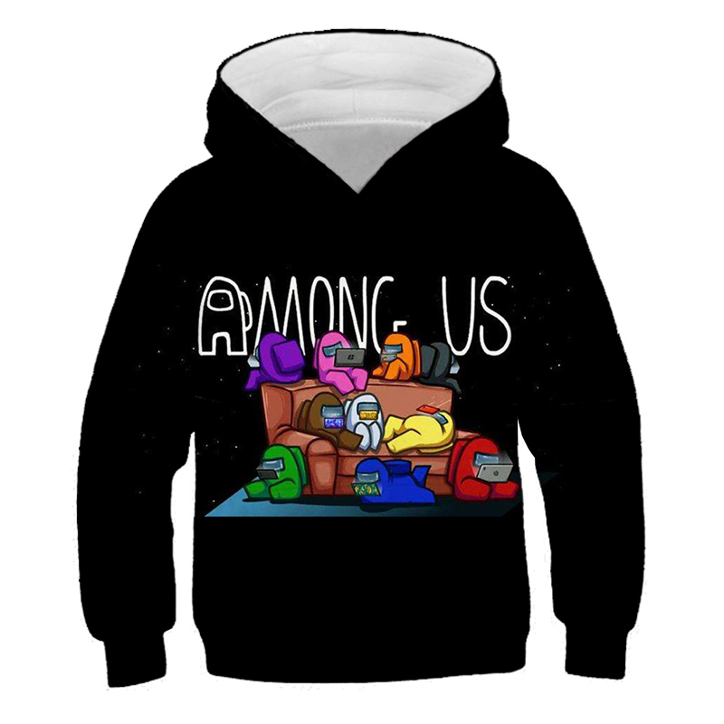 2021 Summer Children 3D Printed Video Games Kids Hoodie Boys Girls Casual Sports Pullover Baby Clothing 4T-14T
