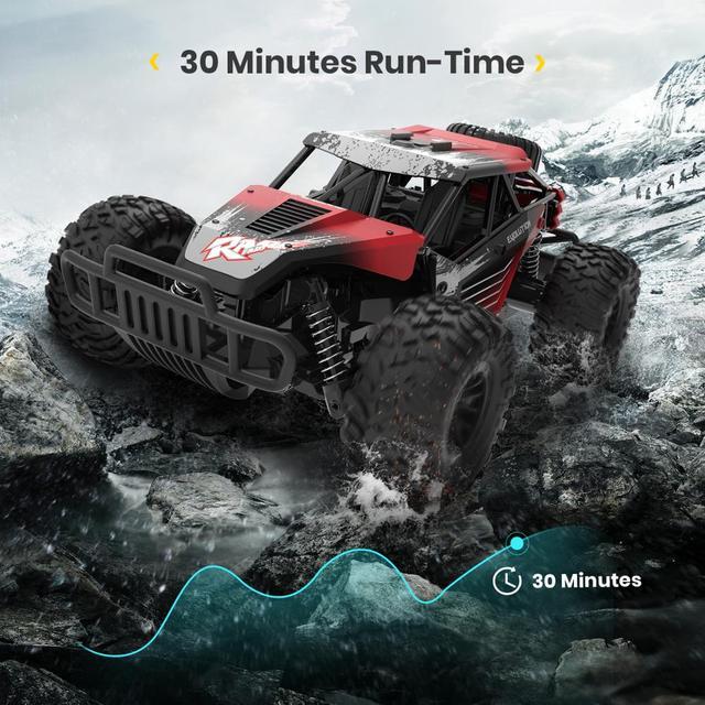 DEERC DE37 1:16 RC Car All Terrains Off Road Buggy Truck 30 Mins Play Time 20 KM/H High Speed RC Dift Car Toys For Children 3
