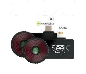 Image 2 - Busca térmica compacto pro/compacto/compacto xr câmera de imagem infravermelha câmera de visão noturna android e ios versão