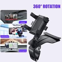 Auto Multifunktionale Handy Halterung 360 Grad Sonnenblende Spiegel Dashboard Halterung GPS Stand Telefon Halter Mit Parkplatz Karte