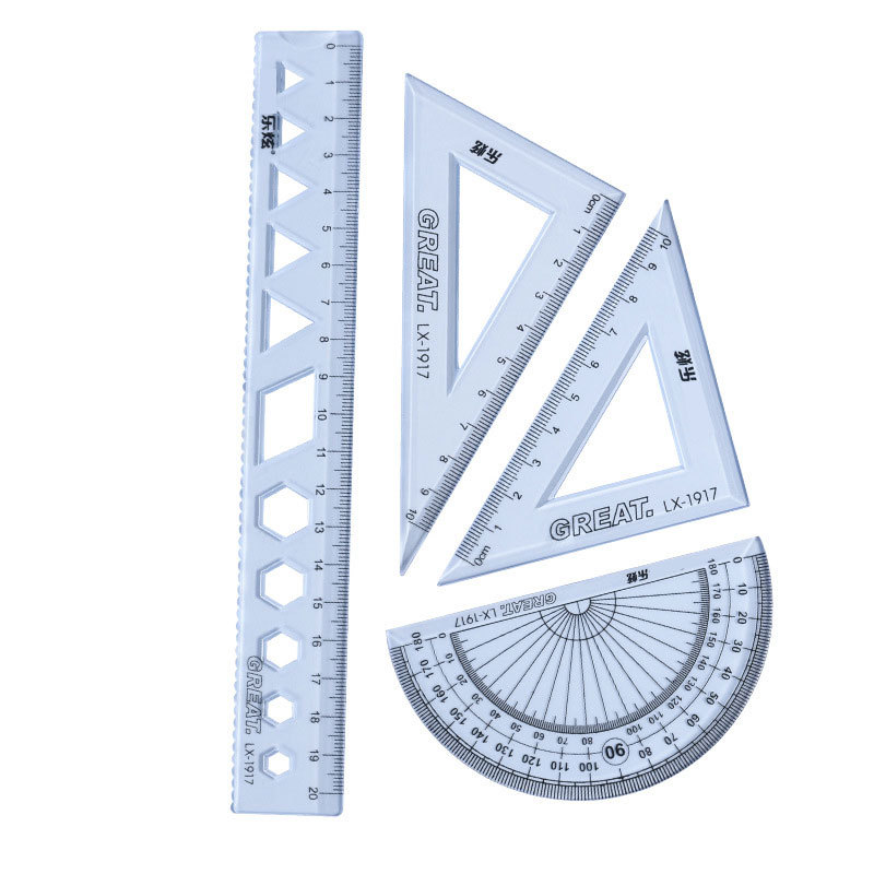 New Type 4pcs / Set Of Ruler For Deep Drawing Measurement