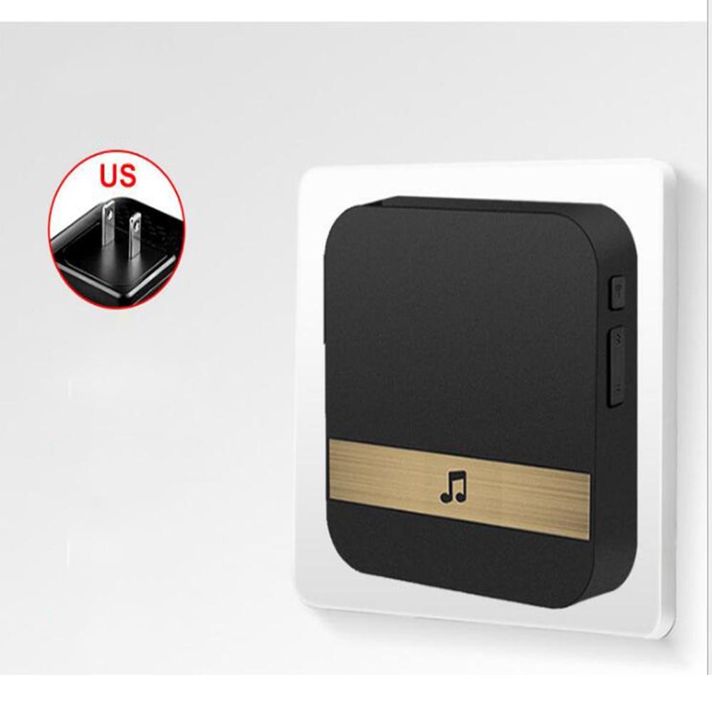 Умный wifi дверной Звонок камера IP видео домофон видео дверной звонок для квартиры ИК сигнализация беспроводная камера безопасности - Цвет: US