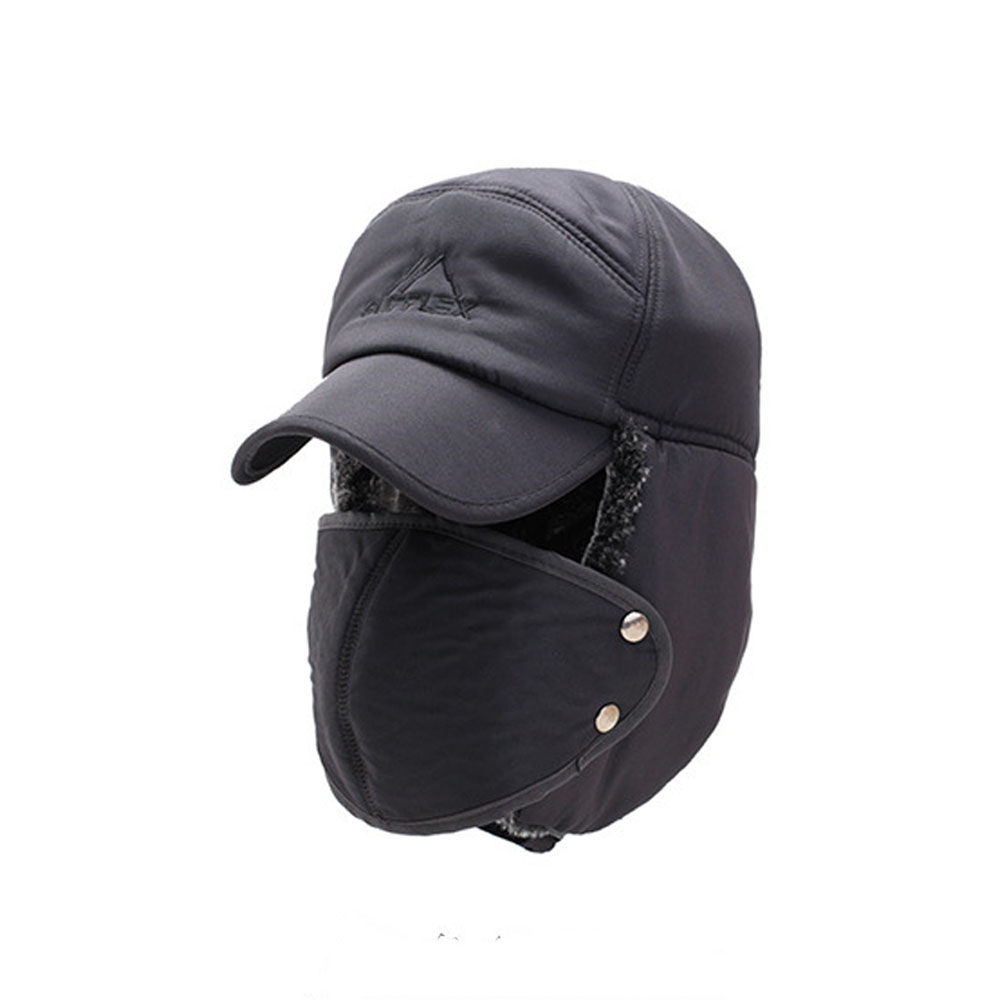 Hat Mask Outdoor In Winter And Velvet Man Muff Men Fashion Adult Warm To Keep Ear Wind Thickening