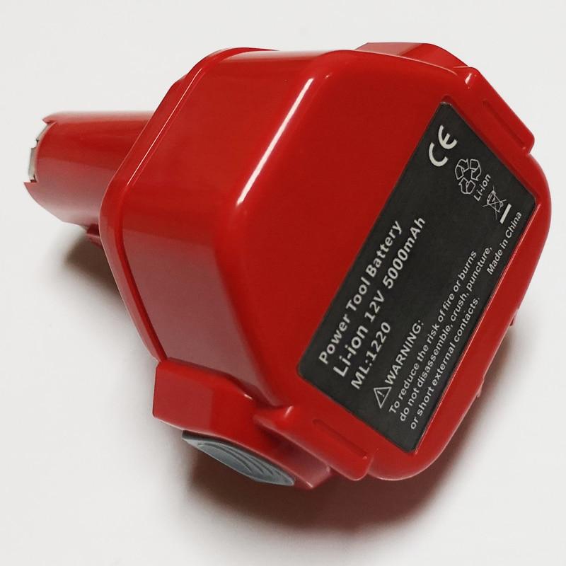 US 12V 5000mah Rechargeable Li-ion Battery For Makita Cordless Electric Drill Screwdriver 6319D 6317D 6316D 6319D 6914D