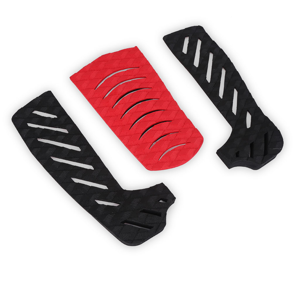 Free Shipping New Design 3M Glue Deck Pad EVA SUP Surfboard Traction Tail Pads Surf Grip Pad Anti-slip Surfboard Traction Pads