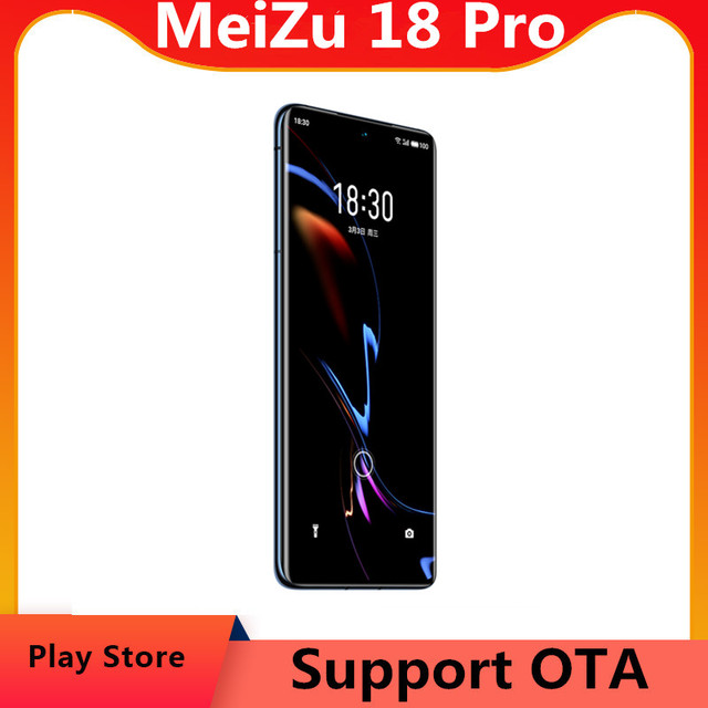 """DHL Fast Delivery Meizu 18 Pro 5G Cell Phone 6.7"""" 3200X1440 120hz 50.0MP 40W Mcharge Screen Fingerprint Snapdragon 888 OTA 1"""