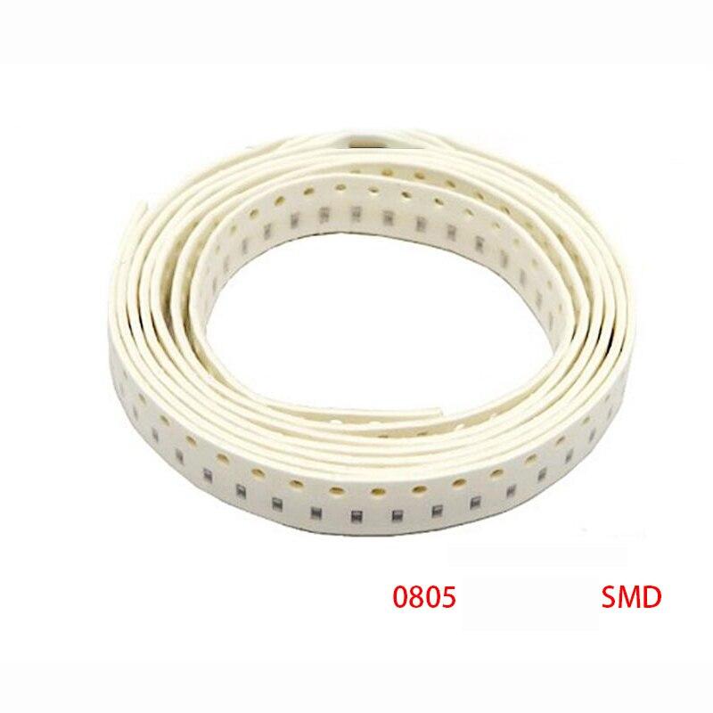 300 шт. 1% 0805 SMD резистор 0R ~ 10M 1/8 Вт 0 0,1 1 1 10 100 150 220 330 Ом K 2,2 K 100K 0R 10 1R 10R 100R 150R 220R 330R 1 м 10 м