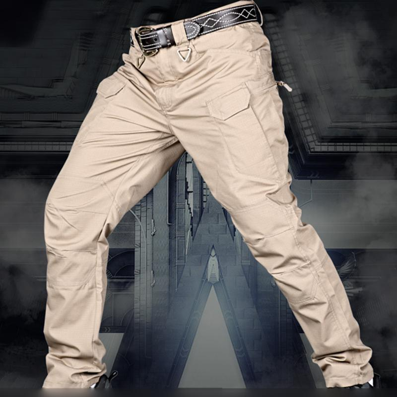 2020 Tactical Pants Waterproof Multiple Pocket Military Cargo Pants Swat Army Airsoft Camouflage Clothes Field Combat Trouser