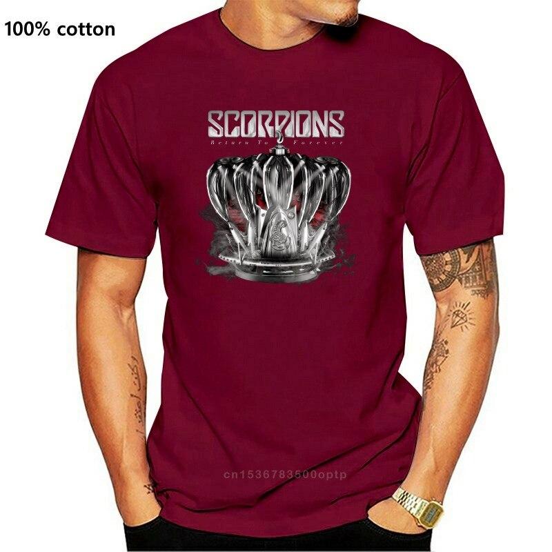 Scorpions Return To Forever Black T Shirt Klaus Meine Michael Schenker Group Ufo