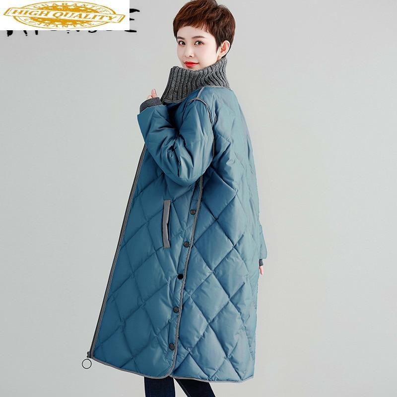 Winter Coat Women Down Coat Plus Size Korean White Duck Down Jacket Women Puffer Jacket Parka Casaco WFTY1260 YY1526