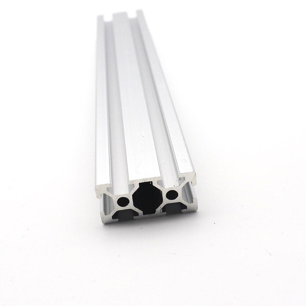 1 шт. 3d Запчасти для принтера 2040 алюминиевый профиль Европейский стандарт анодированный линейный рельс Alum 20x40 Экструзионная 2040 cnc часть