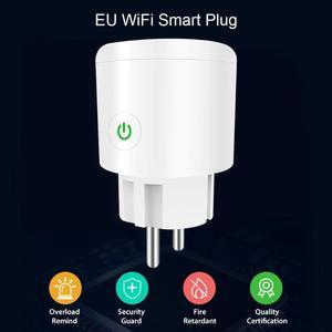 Image 3 - Akıllı tak Wifi akıllı soket Tuya akıllı yaşam App ab tak telefon zamanlama çıkış anahtarı uzaktan kumanda Alexa Google ev mini IFTTT