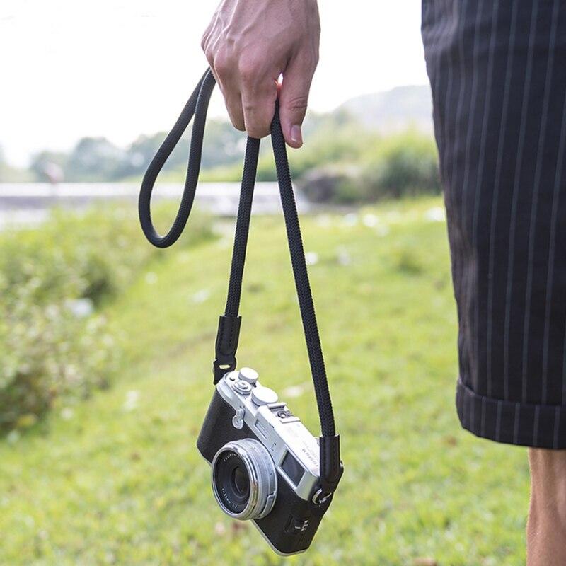 high quality Nylon Rope Camera Shoulder Neck Strap Belt for Mirrorless Digital Camera Canon Nikon Olympus Pentax Leica Sony fuji|Camera Strap| |  - title=
