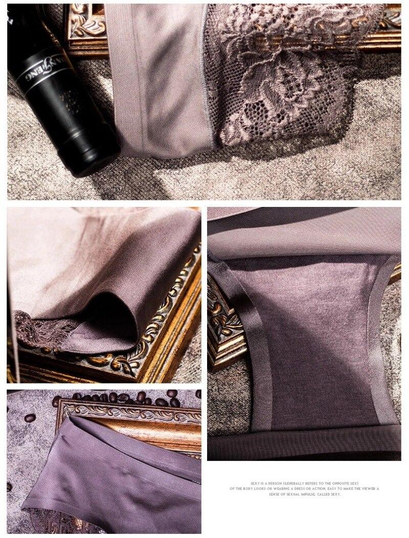 Women's Satin Lace Panties