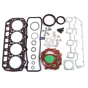 4D94LE 4D94 Engine Overhaul Gasket Kit for YANMAR KOMATSU FD20/25/30 Forklift Truck Rebuild Kit|Engine Rebuilding Kits| |  -