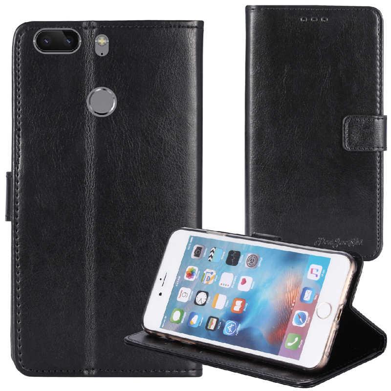 TienJueShi ديلوكس نمط بولي Silicone سيليكون حماية المطاط أغطية جلد جراب هاتف ل Gome S7 5.7 بوصة الحقيبة شل محفظة eتوي الجلد
