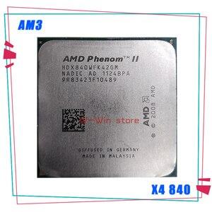 AMD Phenom II X4 840 2M 3.2G Socket AM3 938-pin Desktop CPU X4-840 HDX840WFK42GM Desktop
