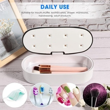 60S/90S UV Cleaning Box Portable USB Power LED UV Disinfection Box For Nail Art Tools
