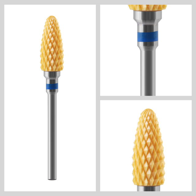 Tungsten Carbide Nail Drill Bit Cutter For Manicure Machine Carbide Electric Nail Drill Milling Cutter For Nail File Accessories 4