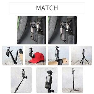 Image 2 - Soporte de montaje con tornillo 1/4 para DJI Osmo Pocket interfaz de cámara y soporte de Cámara de Acción para trípode Selfie Stick bicicleta