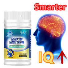 Premium Nootropic Brain Booster Supplement Enhance Focus Improve Memory Mental Enhancement Pills for Neuro Energy & IQ Ginkgo
