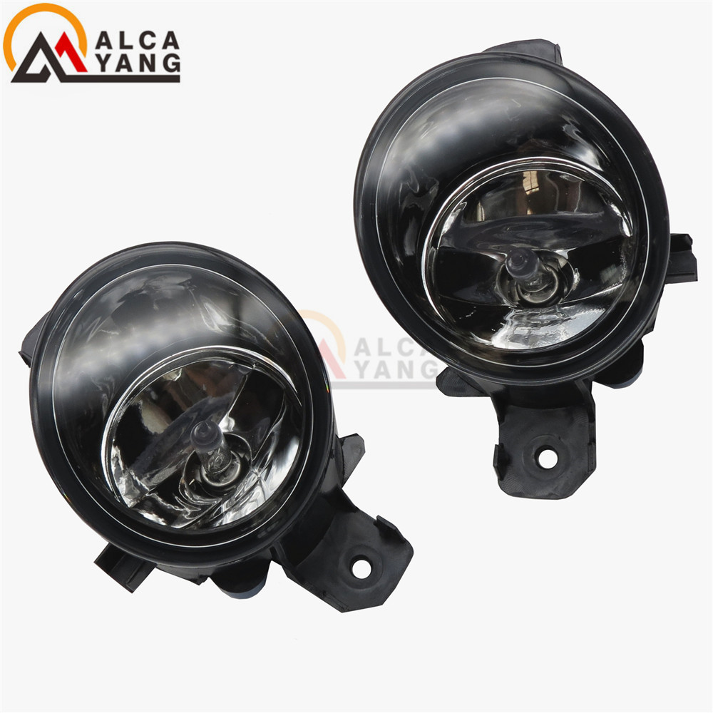 Malcayang Devil Eyes <font><b>LED</b></font> / Halogen Fog LIGHT Lights drl Refit 55W For <font><b>Renault</b></font> CLIO LAGUNA ESPACE <font><b>MODUS</b></font> GRAND <font><b>MODUS</b></font> 1998-2013 image