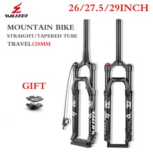 Bicycle Forks Mountain-Bike Fork-26/27.5/29inch-suspension Magnesium/al-Alloy MTB Fork-Shoulder/Wire-Control