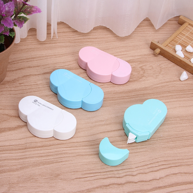 5m Cloud Mini Correction Tape Sweet White Out Stationery School Office Supply H7EC