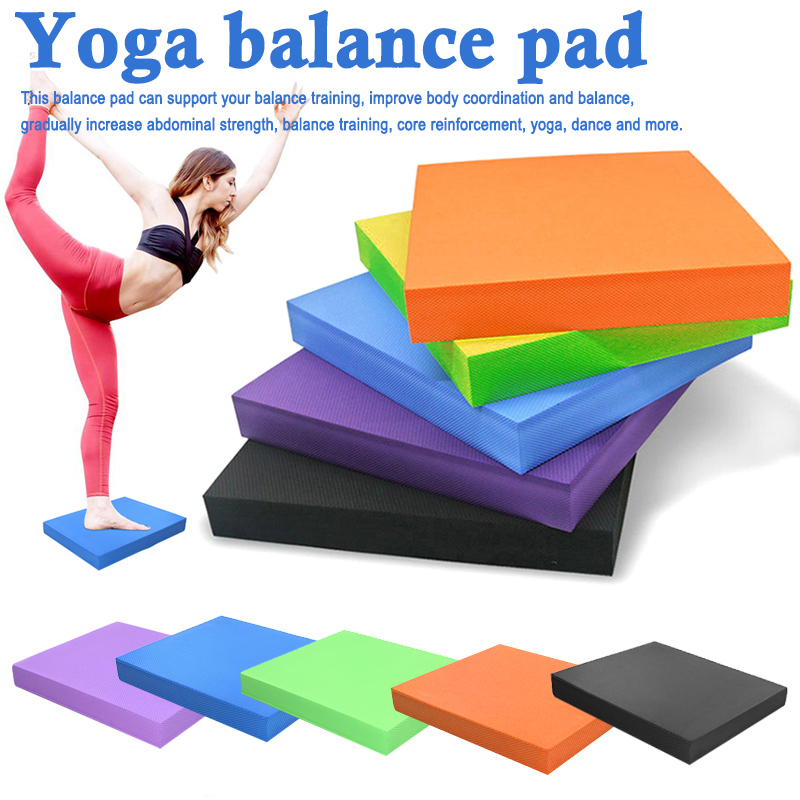 Hot Sale Durable Yoga Cushion Foam Board Balance Pad Gym Fitness Exercise Mat Women Workout Balance Exercise #H917