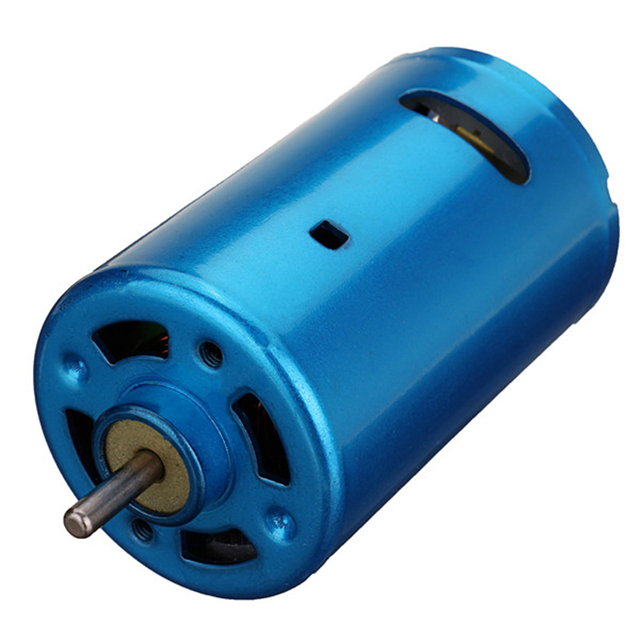 1PC RS 550 Motor DC 6V 24V 30000RPM High Speed Low Noise Large Torque Motor Various Cordless Screwdriver Electric Micro