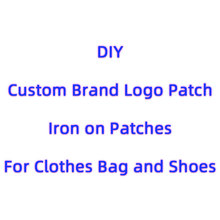 Trend Brand LOGO Patches Iron on Letters Clothes Stickers DIY Parches Bordados Para La Ropa Jacket Embroidery Applique Badge