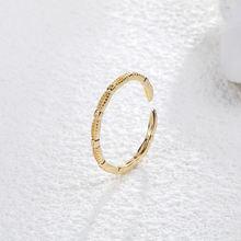 Модные ювелирные изделия в Корейском стиле полое кольцо для
