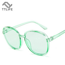 TTLIFE Retro Sunglasses Women Candy Color Sun Glasses Female Fashion Trend Ladies Outdoor Personality YJHH0118