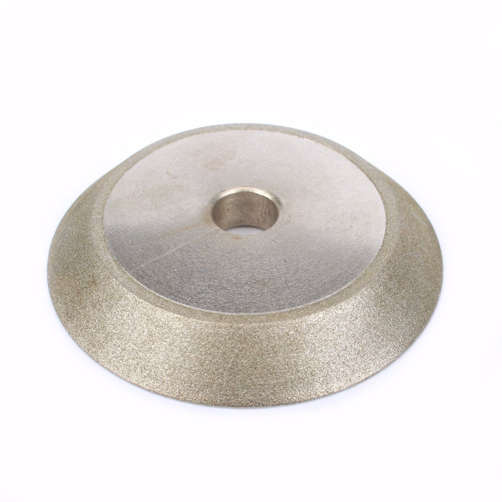 78x12.7x10mm Diamond Coated Grinding Wheel 45 Degree Diamond Disc Sharpening  Cutter Grinder Abrasive Tool 150Grit
