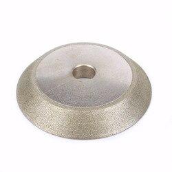 80x72x19x10mm diamentowe powlekane ściernica 45 stopni tarcza diamentowa do ostrzenia szlifierka narzędzie ścierne 150Grit w Koła ścierne od Narzędzia na