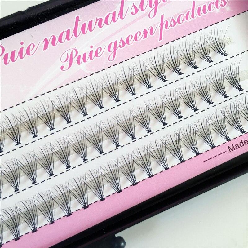 Free Shipping Professional Makeup Eyelashes 60pcs Fashion  Individual Cluster Eye Lashes Grafting False Eyelashes