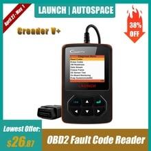 цена на 100% Original Launch Creader V+ Plus Universal OBD2 Code Reader Scanner Error Fault Delete OBDII Diagnostic-Tool OBD 2 II Scan