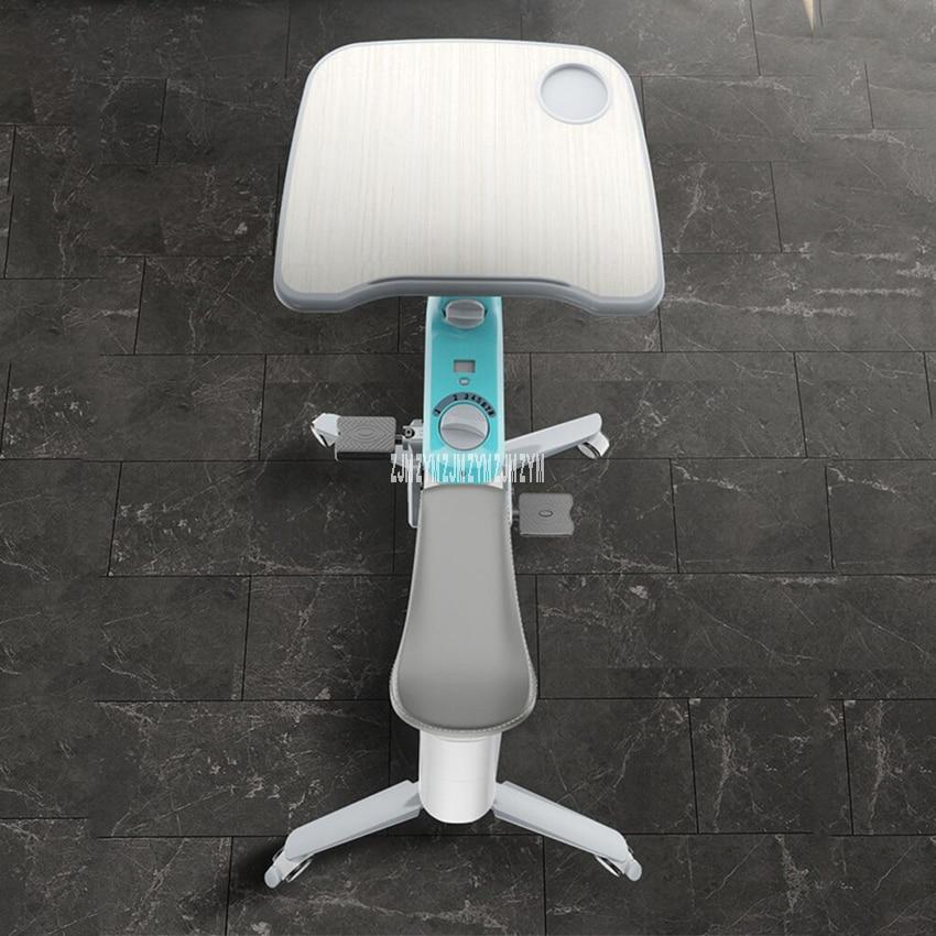 exercício em casa bicicleta móvel com rolos