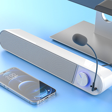 Bluetooth Computer Speaker Bar Wireless Speakers Mic Microphone HiFi Stereo Subwoofer Wired For Laptop PC Aux 3.5mm Loudspeaker